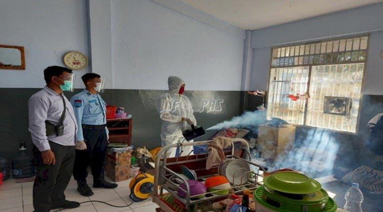 Cegah COVID-19, Lapas Surabaya Gandeng Komunitas IMM Jatim