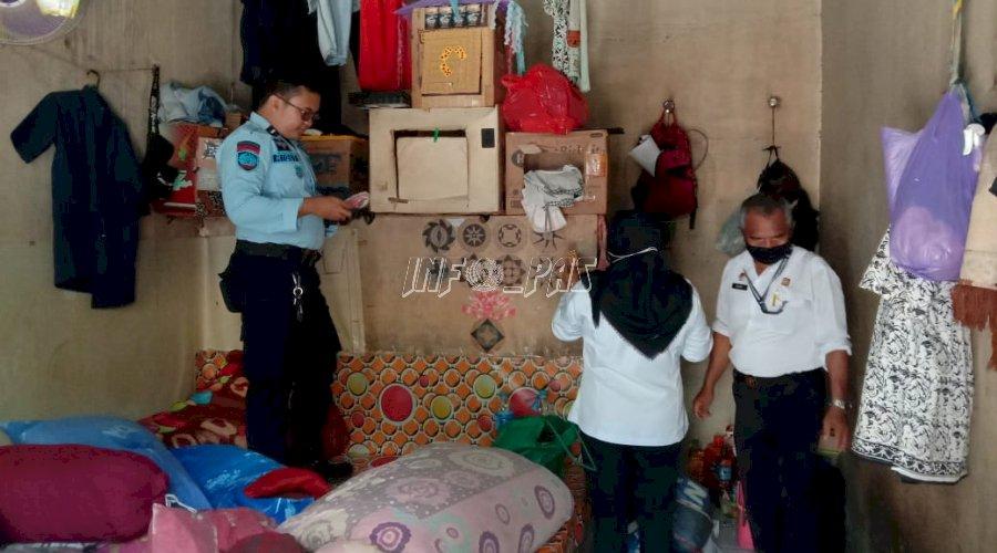 Rutan Buntok Laksanakan Razia Rutin Kamar Hunian WBP