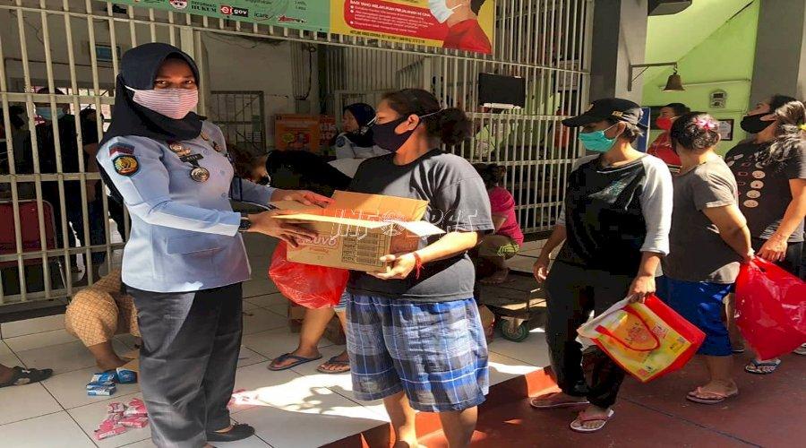 LPP Jakarta Bagikan Perlengkapan Mandi bagi WBP