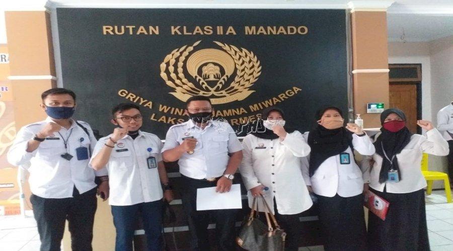 Tim Ditjen HAM Sambangi Rutan Manado