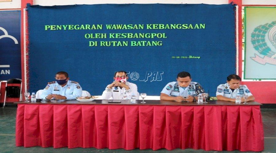 WBP Rutan Batang Ikuti Penguatan Kebangsaan dari Kesbangpol