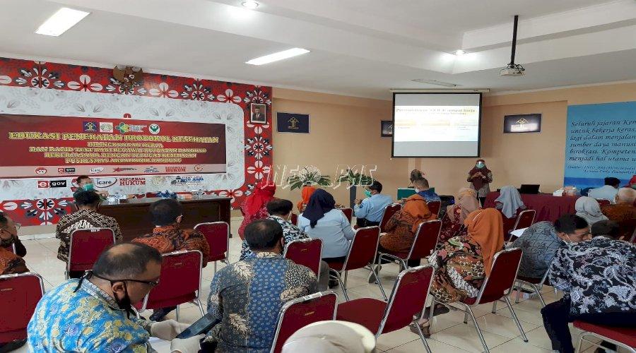 Rupbasan Bandung Gelar Edukasi Penerapan Protokol Kesehatan & Rapid Test