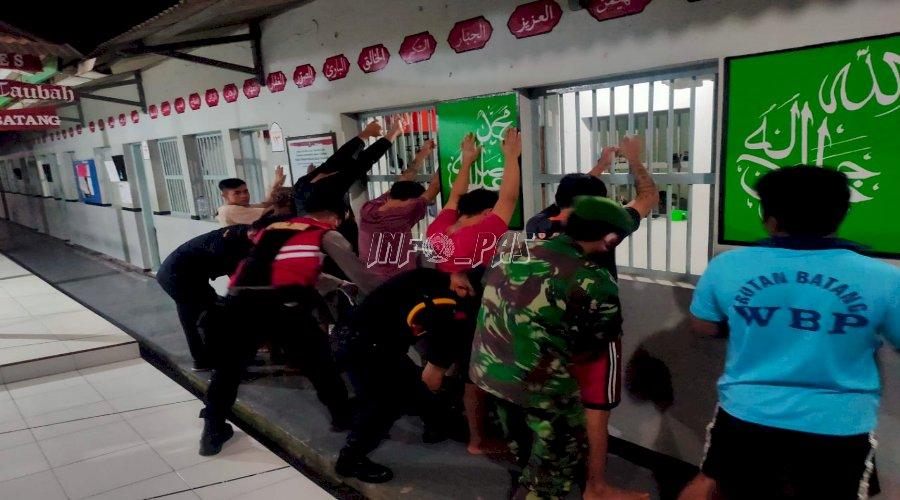 Rutan Batang Digeledah, Nihil Narkoba & Sajam