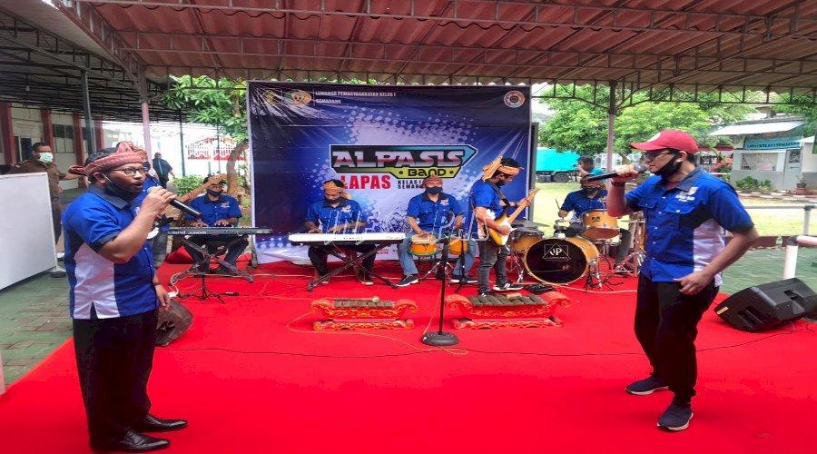 Alpasis Band Lapas Semarang Pukau Sekjen Kemenkumham