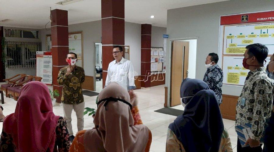 Ini Pesan Kapusdatin Balitbangkumham Untuk Rupbasan Bandung