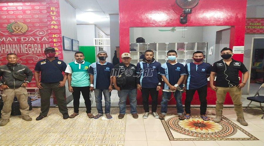 6 Narapidana Rutan Ambon Dipindahkan ke Lapas Piru