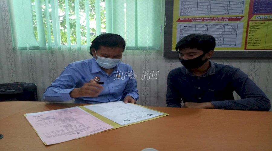 PK Muda Bapas Muara Teweh Sukses Dampingi Diversi Kasus Penganiayaan