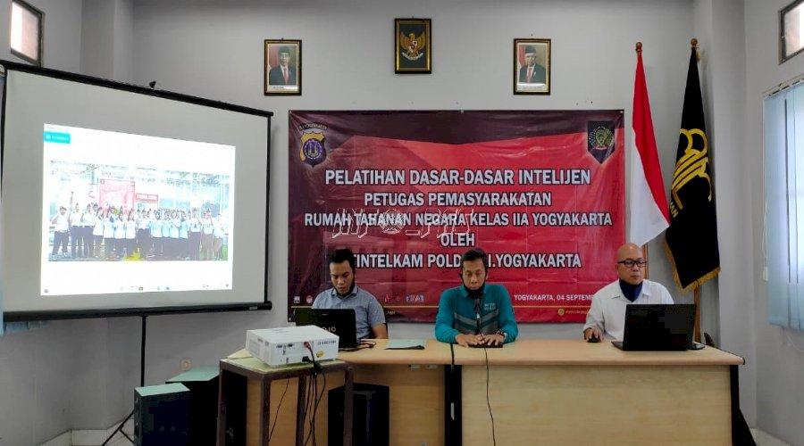 Petugas Rutan Yogyakarta Ikuti Pelatihan Dasar Teknik Intelijen