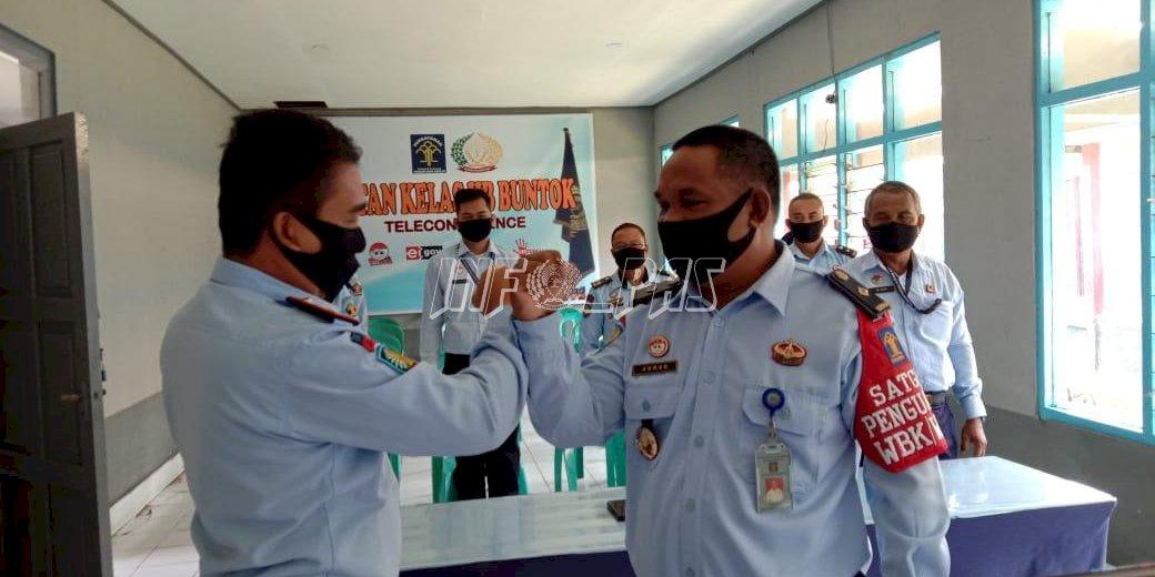 Rutan Buntok Dapat Suntikan Semangat WBK/WBBM dari Sekretaris Jenderal Kemenkumham
