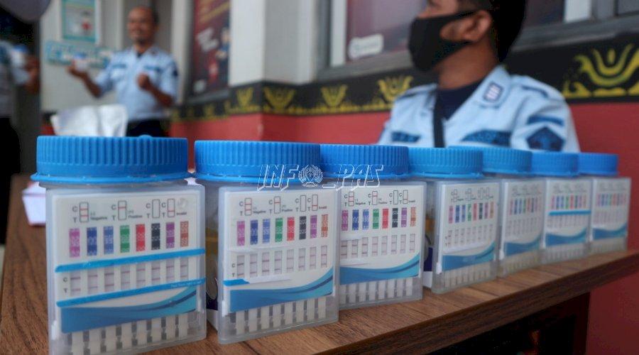 Tes Urin Mendadak, Rutan Batang Kembali Negatif Narkoba