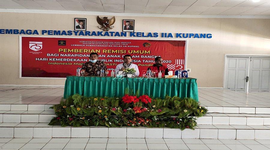 Kunjungi Lapas Kupang, Ini Harapan Staf Ahli Menteri Bidang RB