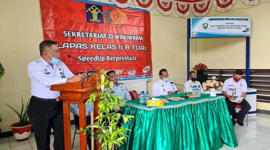 Ini Pujian Kakanwil Maluku bagi Lapas Tual