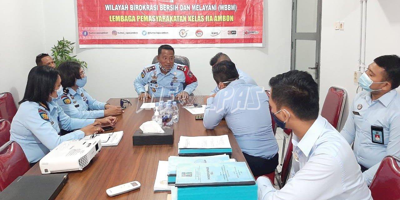 Lapas Ambon Kedatangan Tim Supervisi Pelaksanaan Pembangunan UPT Pemasyarakatan