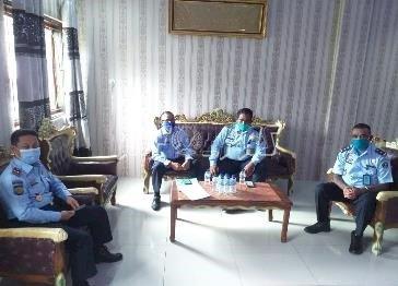 Tim Penilaian Pelayanan Publik Berbasis HAM Kanwil Sulut Sambangi Rutan Manado