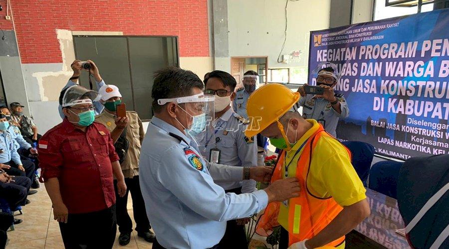 WBP & Petugas LPN Karang Intan Dibekali Pelatihan Konstruksi