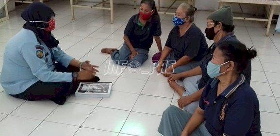 Posyandu Lansia Pantau Kesehatan WBP LPP Semarang
