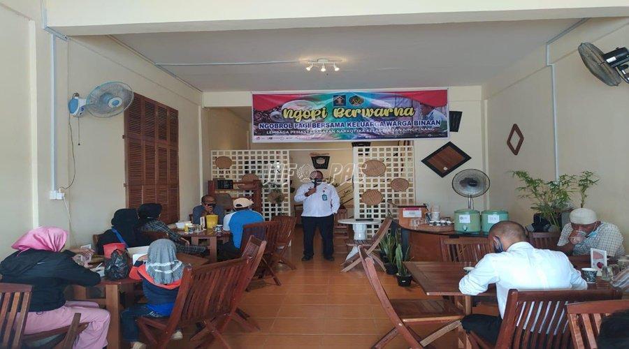 Ngopi Berwarna ala Lapas Narkotika Tanjung  Pinang