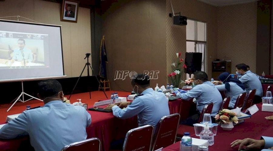 Tim Pokja WBK LPN Jakarta Ikuti Arahan Evaluasi Pembangunan ZI