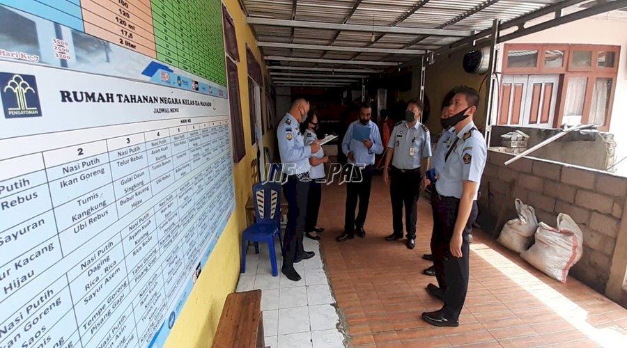 Tim Monev Divisipas Kanwil Sulut Sambangi Rutan Manado