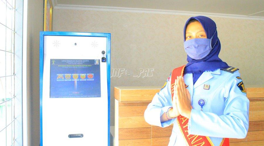 Duta Layanan LPP Jakarta Bantu Masyarakat di Tengah Pandemi
