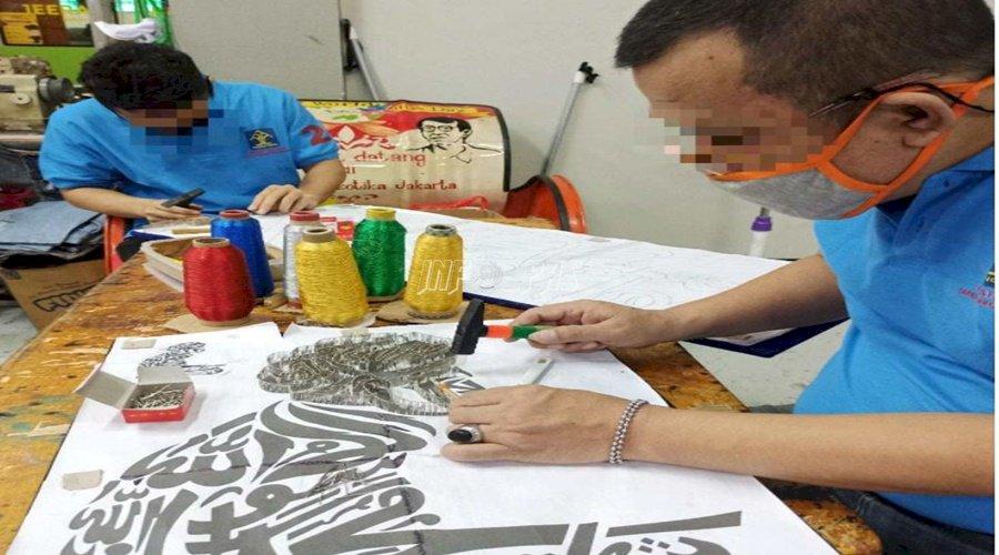 String Art, Karya Seni Tingkat Tinggi WBP LPN Jakarta