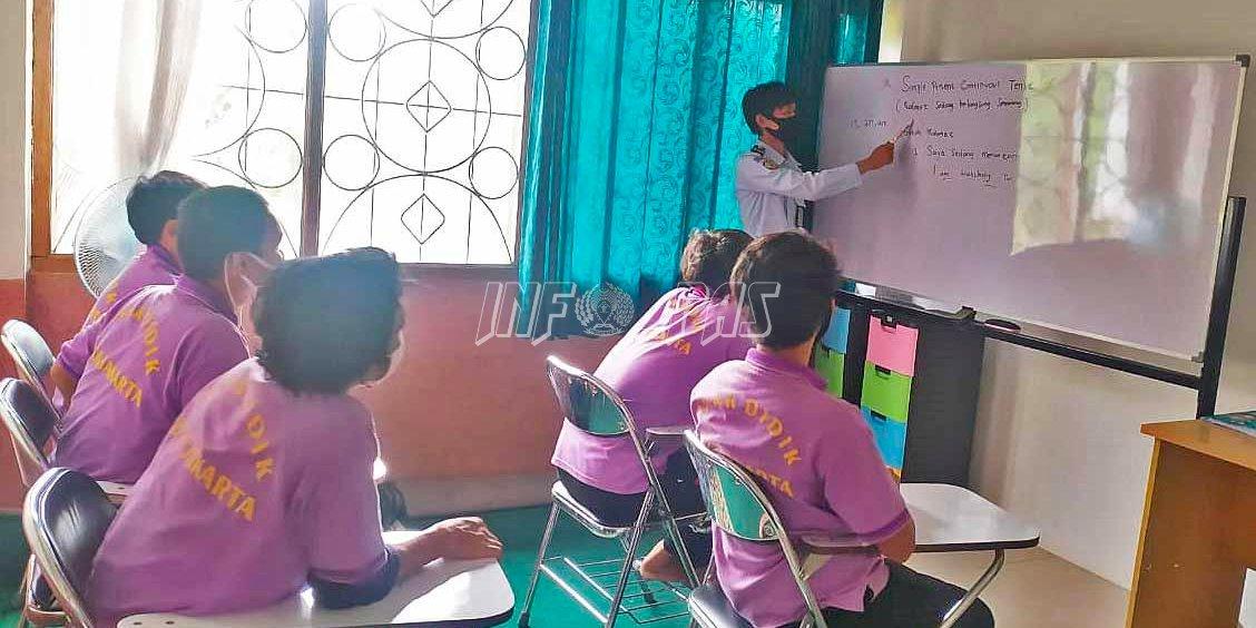Petugas LPKA Jakarta Hadirkan Solusi Kegiatan Belajar Mengajar dan Ujian PTS