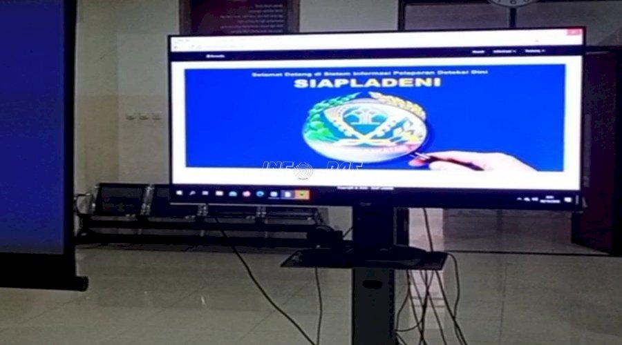 Aplikasi SIAPLADENI Kembali Dipresentasikan kepada Pimti Kanwil Maluku