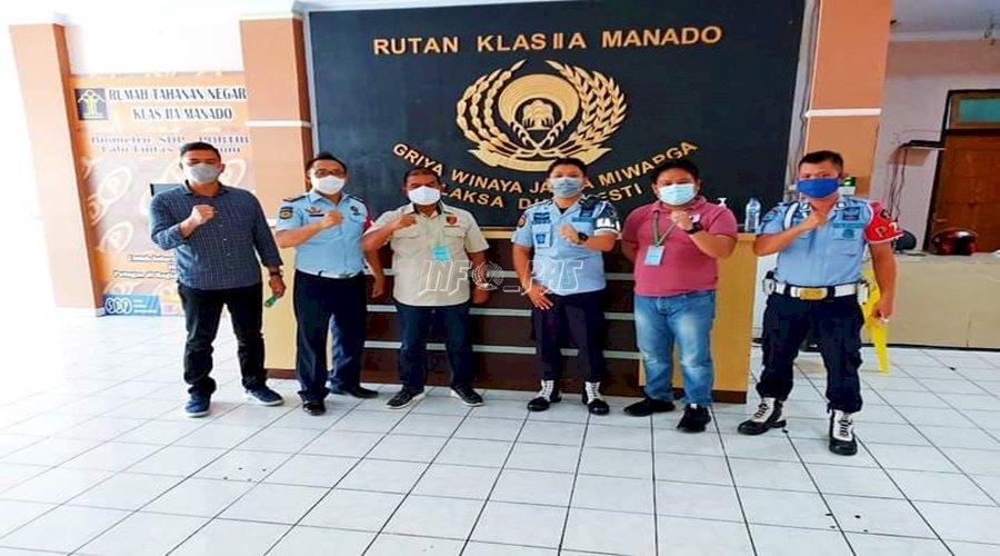 Rutan Manado – Polda Sulut Perkuat Sinergi P4GN