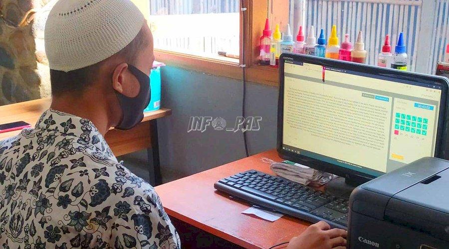 Anak LPKA Jakarta Ikuti Ujian Susulan Online