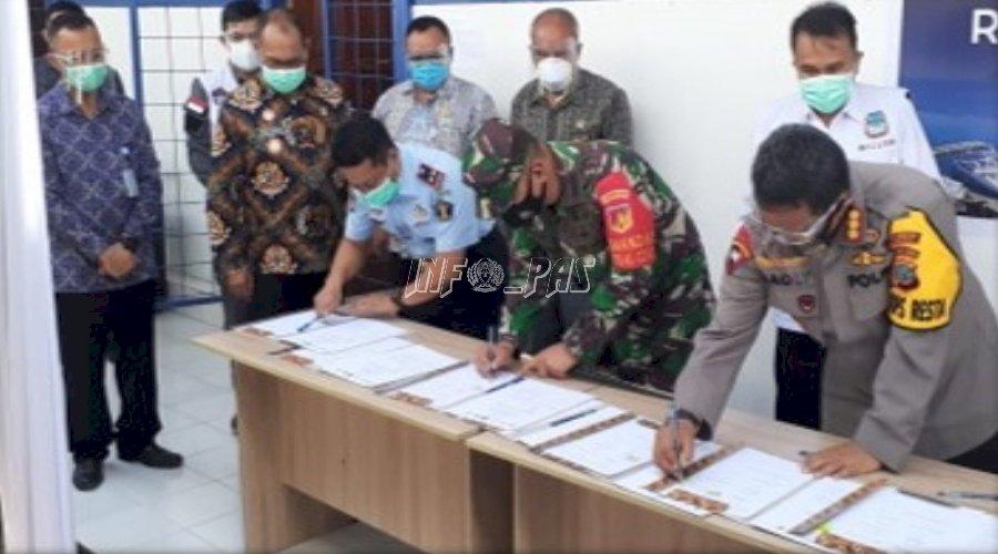 Karutan Manado Hadiri Peresmian Rumah Singgah COVID-19 Khusus Tahanan dan Narapidana