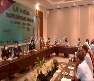 Rutan Manado Hadiri Rakor Pendataan Pemilih Lapas & Rutan Menuju Pilkada Sulut 2020