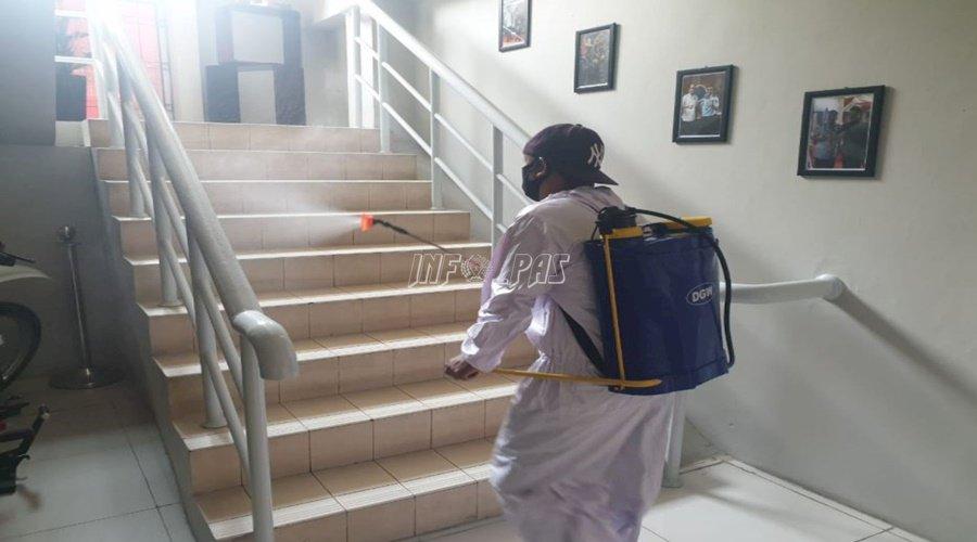 Cegah COVID-19, LPN Jakarta Kembali Disemprot Disinfektan