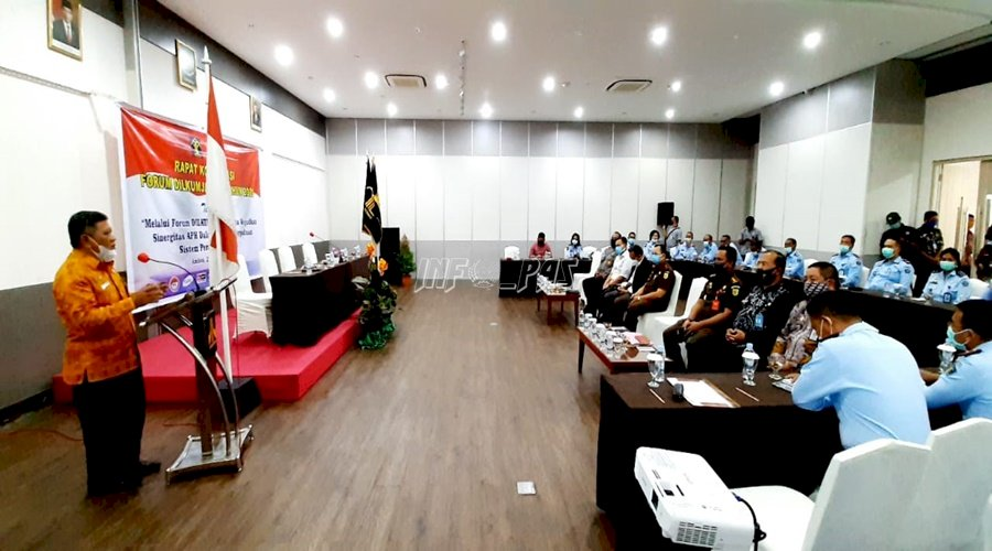 Forum Dilkumjakpol Maluku Wujudkan Sinergi APH dalam Sistem Peradilan Pidana Terpadu