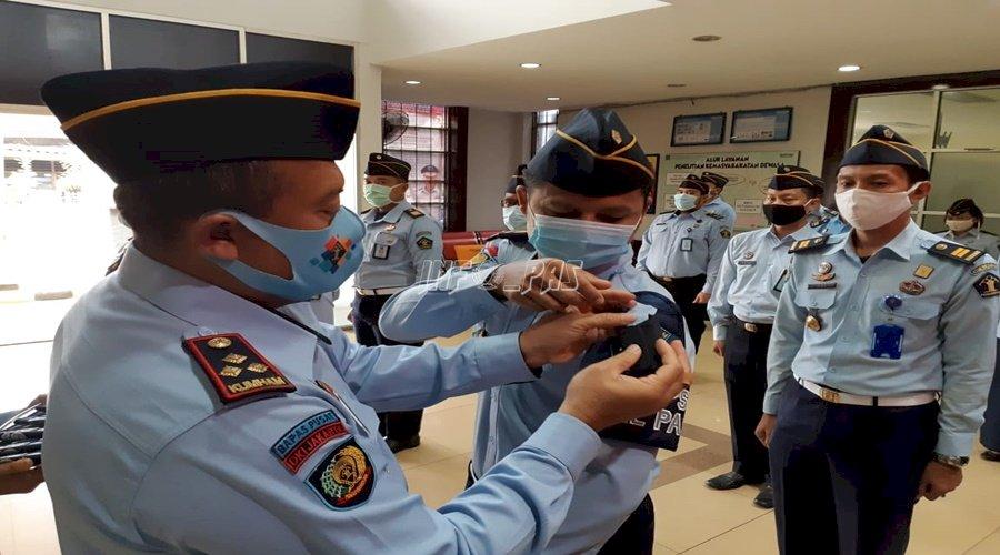Satops Patnal Bapas Jakarta Pusat Resmi Dikukuhkan
