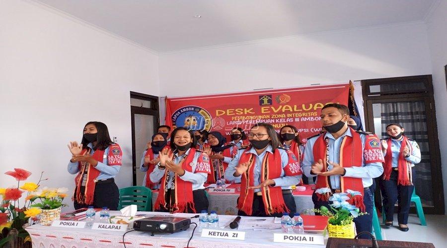 LPP Ambon Sukses Jalani Desk Evaluasi ZI Menuju WBK/WBBM