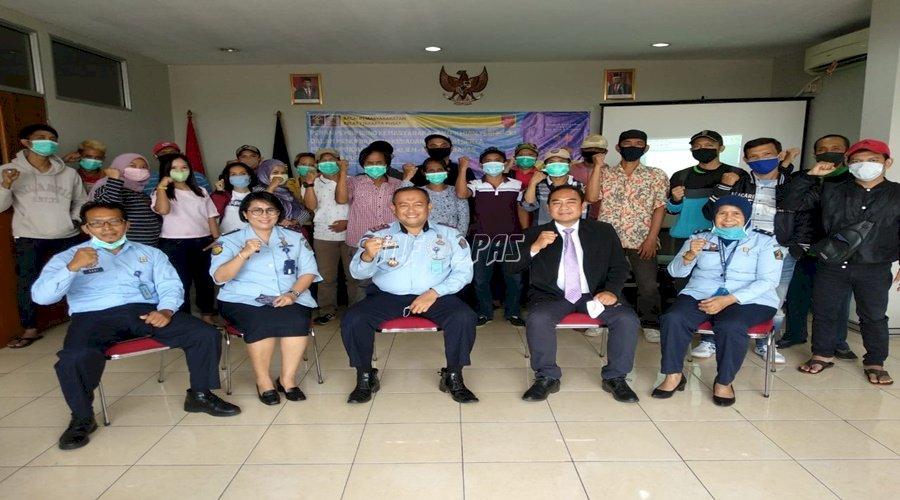 Bapas Jakarta Pusat Rampungkan Bimbingan Kepribadian untuk Klien & Penjamin