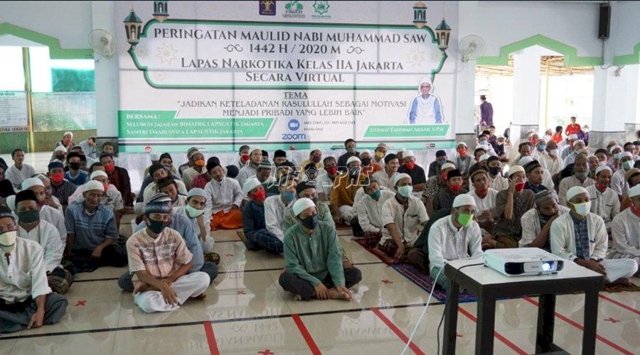 Santri WBP LPN Jakarta Peringati Maulid Nabi Muhammad SAW