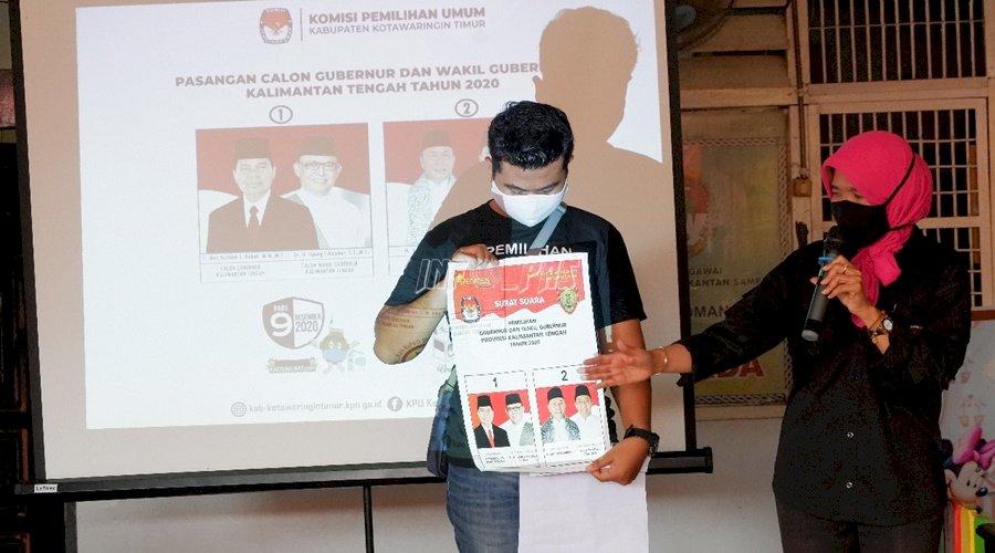 WBP Lapas Sampit Ikuti Sosialisasi Jelang Pilkada Kalteng