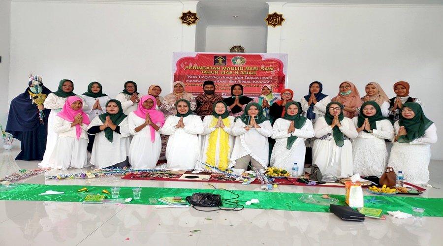 Semarak Peringatan Maulid Nabi Muhammad SAW di LPP Ambon
