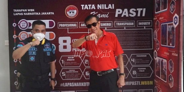 Menkumham Yakin Lapas Narkotika Jakarta Pasti WBK