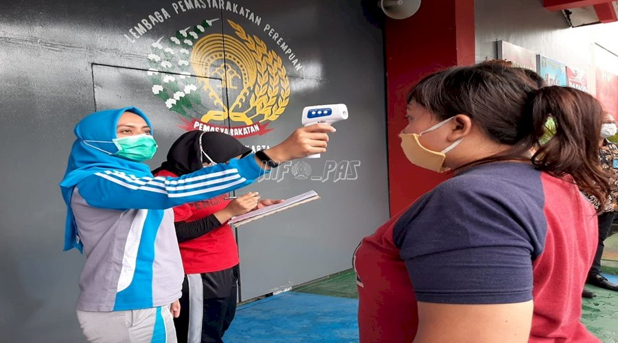Terima Narapidana Baru, LPP Jakarta Berlakukan Protokol Kesehatan