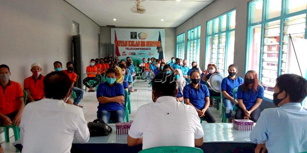 Gunakan Hak Pilih, WBP Rutan Buntok Dapat Sosialisasi dari KPU Barito Selatan