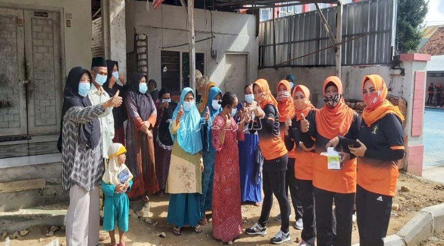 Bapas Pamekasan Bagikan Masker & Berikan Layanan Kesehatan