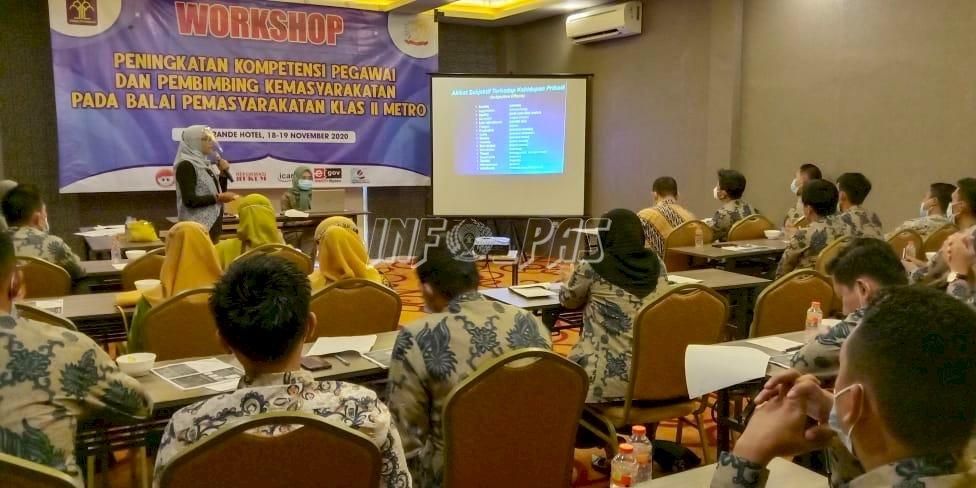 Bapas Metro Tingkatkan Kompetensi Petugas Melalui Workshop