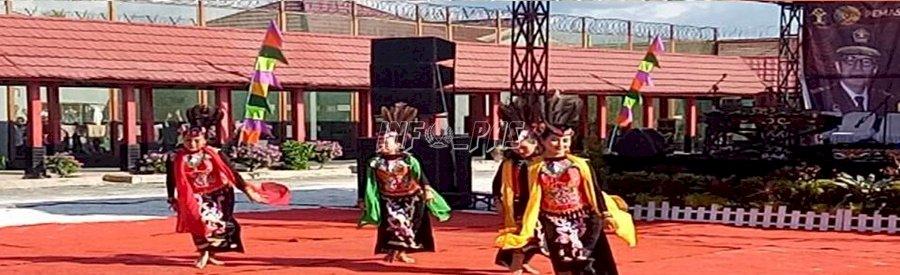 LPP Palangka Raya Unjuk Gigi dalam Prison Art Show Kalteng