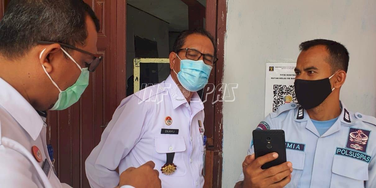 Kakanwil Kemenkumham Aceh Tinjau Penerapan Aplikasi Bandroll