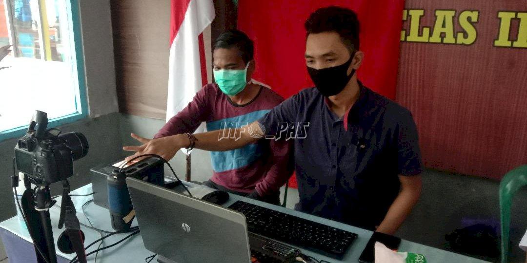 Jelang Pilkada Serentak, WBP Rutan Buntok Rekam e-KTP