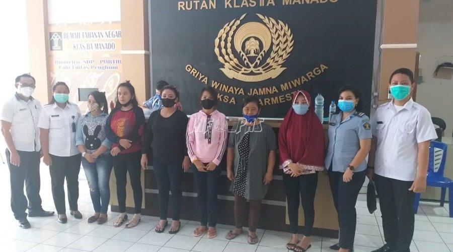 Rutan Manado Mutasi 6 WBP Perempuan ke LPP Manado