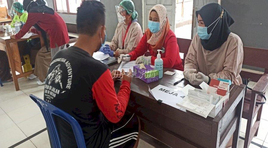 281 WBP Rutan Kuala Kapuas di-Screening HIV
