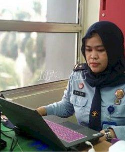 PK & APK Bapas Jakarta Pusat Ikuti Ukom Kenaikan Jenjang